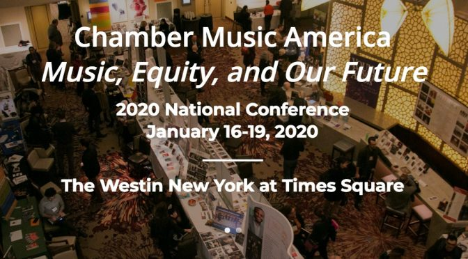 Tech Session at Chamber Music America Conference